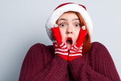 Alcohol de la Navidad y del Año Nuevo Concepto de un día de fiesta y de días Foto de archivo libre de regalías
