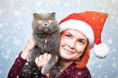 Alcohol de la Navidad y del Año Nuevo Concepto de un día de fiesta y de días Fotos de archivo libres de regalías