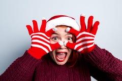 Alcohol de la Navidad y del Año Nuevo Concepto de un día de fiesta y de días Foto de archivo