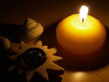 Alcohol de la vela Fotografía de archivo libre de regalías