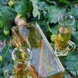 Alcohol del roble fotografía de archivo libre de regalías