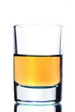 Alcohol drink on white background Royalty Free Stock Image