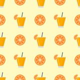 Alcohol drinks beverages cocktail seamless pattern. Alcohol drinks beverages cocktail daiquiri lager refreshment container seamless pattern menu drunk concept Stock Image