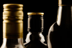 Alcohol drinks close-up Stock Photography