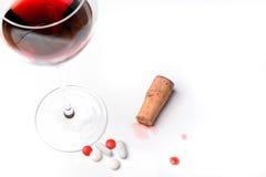 Alcohol en druggebruik Royalty-vrije Stock Afbeelding