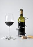 Alcohol en pillen royalty-vrije stock fotografie