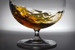 Alcohol en vidrio imagen de archivo