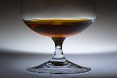 Alcohol in glass Royalty Free Stock Image