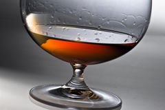 Alcohol in glass Stock Image