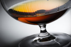 Alcohol in glass Stock Photography