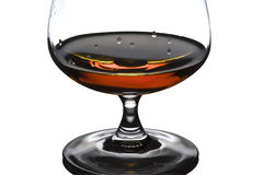 Alcohol in glass Royalty Free Stock Images