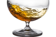 Alcohol in glass Royalty Free Stock Photo