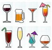 Alcohol glass Stock Photos