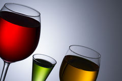 Alcohol  glass Stock Photos
