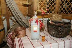Alcohol hecho en casa Fotos de archivo libres de regalías