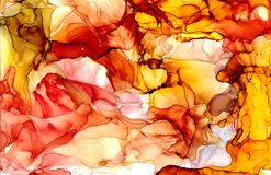 Alcohol ink texture. Fluid ink abstract background. art for design.  Stock Photos