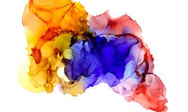 Alcohol ink texture. Fluid ink abstract background. art for design.  Royalty Free Stock Photo