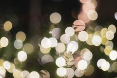 Alcohol ligero de la Navidad de la decoración de los días de fiesta de Bokeh de la Navidad imagen de archivo libre de regalías