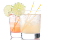 Alcohol long island Iced tea Royalty Free Stock Images