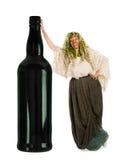 Alcohol masquerade Royalty Free Stock Photos
