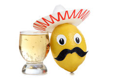 Alcohol of mexico Royalty Free Stock Image