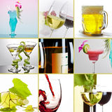 Alcohol mix Stock Photography