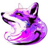 Alcohol púrpura del Fox Foto de archivo