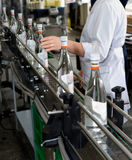 Alcohol production Stock Photo