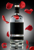 An alcohol romance. Royalty Free Stock Photo