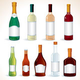Alcohol Set Stock Photos