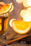 Alcohol in shot glass Royalty Free Stock Photography