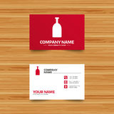 Alcohol sign icon. Drink symbol. Bottle. Royalty Free Stock Photo