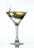 Alcohol splash Royalty Free Stock Photography