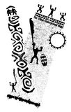 Alcohol tribal ilustración del vector