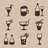 Alcohol un icon2 Imagen de archivo libre de regalías
