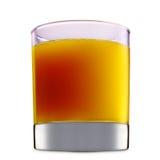Alcoholcocktail op witte achtergrond wordt geïsoleerd die Stock Foto