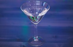 Alcoholcocktail voor de winterpartij Het concept van cocktailidee?n Gemakkelijke recepten voor dranken van de de winter de alcoho stock afbeelding