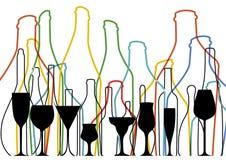 Alcoholic Bar Menu  Royalty Free Stock Image