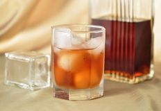 Alcoholic beverages Stock Images
