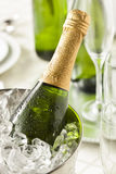 Alcoholic Bubbly Champagne for New Years Royalty Free Stock Photos