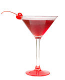 Alcoholic cerise cocktails Royalty Free Stock Image