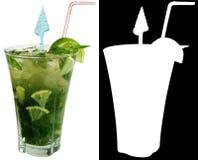 Alcoholic Cocktail Bacardi Mojito Stock Image