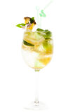 Alcoholic cocktail  isolated Stock Image