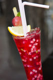 Alcoholic cocktail punch Stock Images