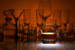 Alcoholic drink in bar Royalty Free Stock Photography