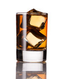 Alcoholic drink with ice Royalty Free Stock Photo