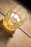 Alcoholic drink on wood table Royalty Free Stock Photography
