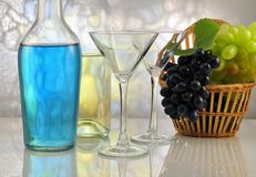Alcoholic drinks Royalty Free Stock Image