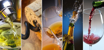 Alcoholic Drinks Royalty Free Stock Images