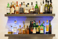 Alcoholic Drinks Stock Photography